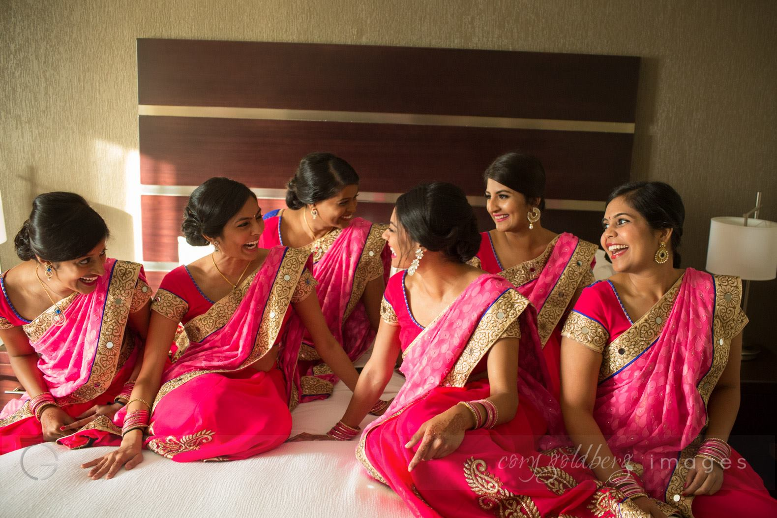 Manish & Kavitha Bridesmaids
