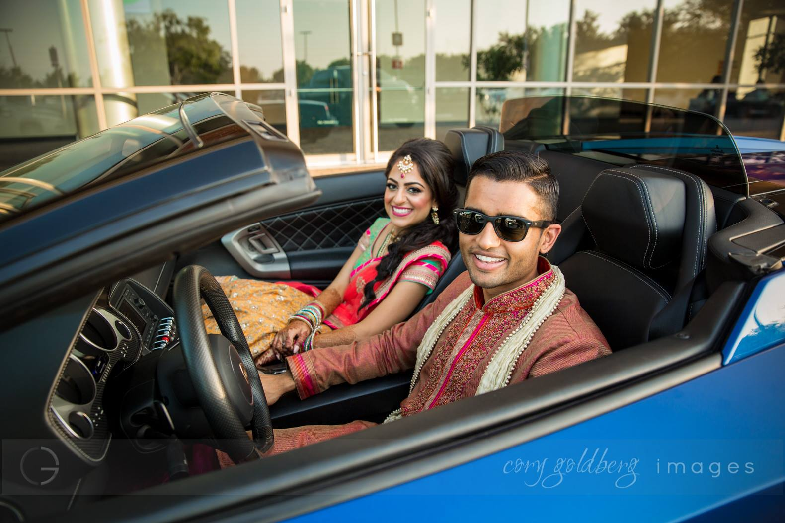 Manish & Kavitha Couple Car