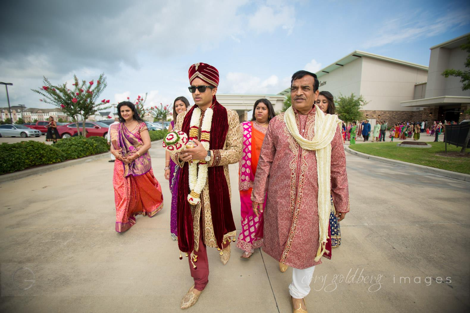 Manish & Kavitha Groom Family