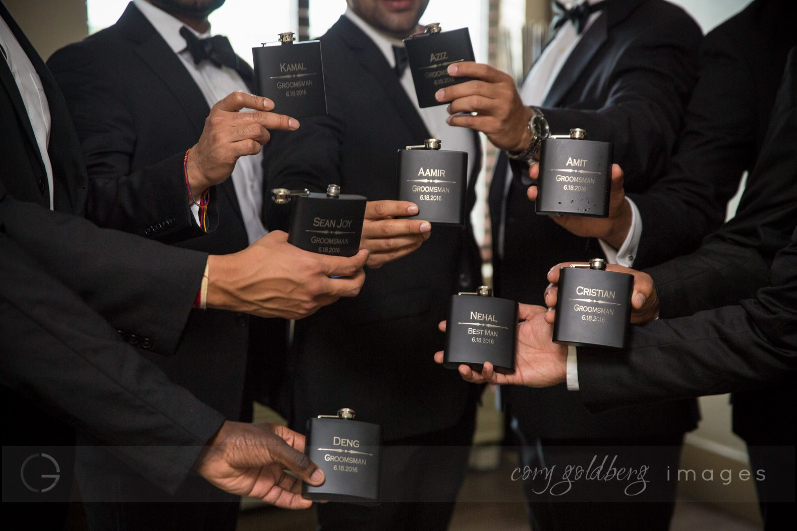 Manish & Kavitha Groomsmen Gifts