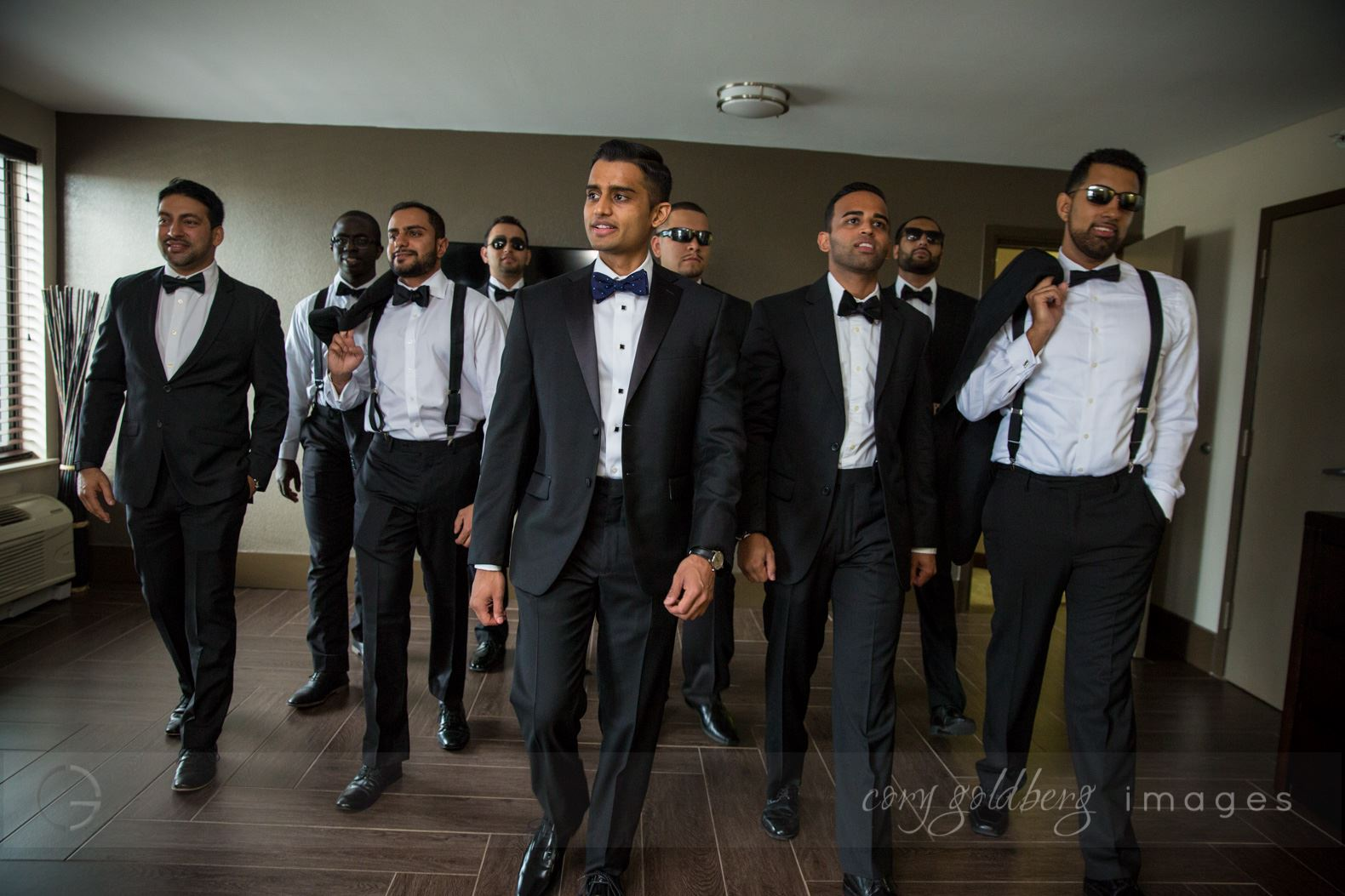 Manish & Kavitha Groomsmen Reception
