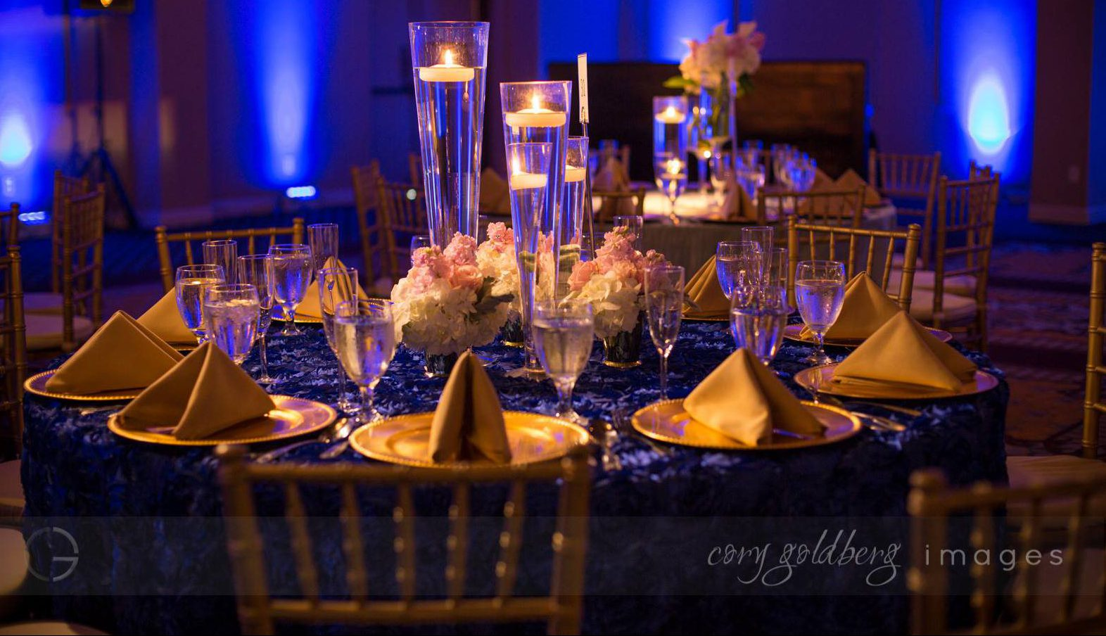 Manish & Kavitha Reception Table
